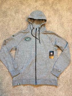 $105 New York Jets Nike NFL Team Apparel Full Zip Hoodie Swe