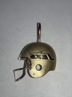 ~14K gold New York Jets Helmet Pendant Necklace Sports Jewel