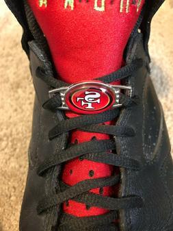 2pcs NFL Team Logo Paracord Shoelace Charms