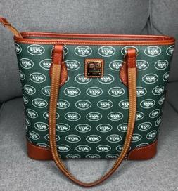 Dooney & Bourke NFL New York NY New York Jets Richmond Bag P