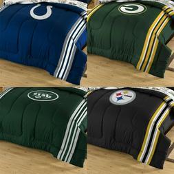 NFL Football Twin-Full Comforter and Sham Set - Sports Leagu