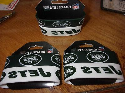 lot 3 packs new york jets silicone