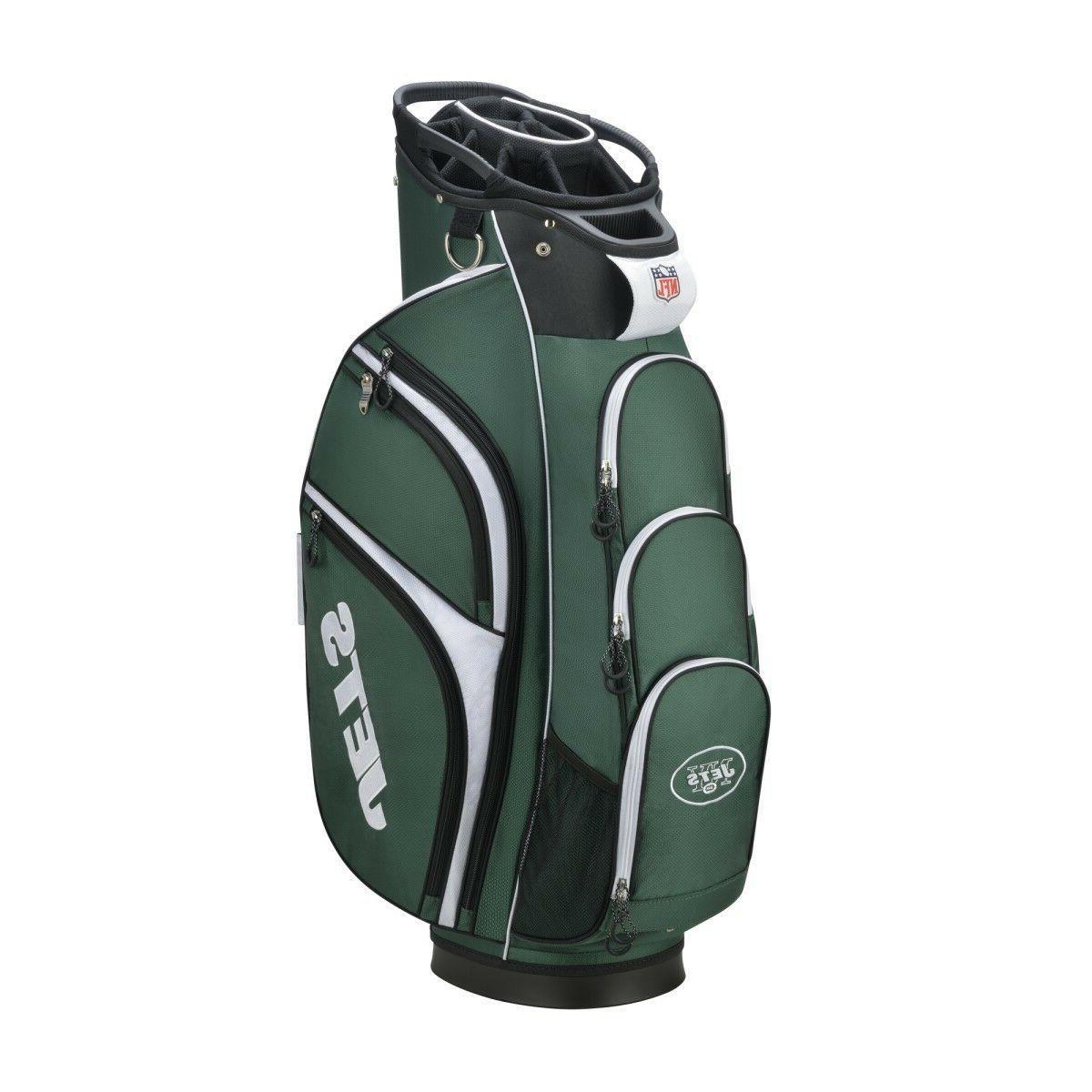 new nfl cart golf bag new york