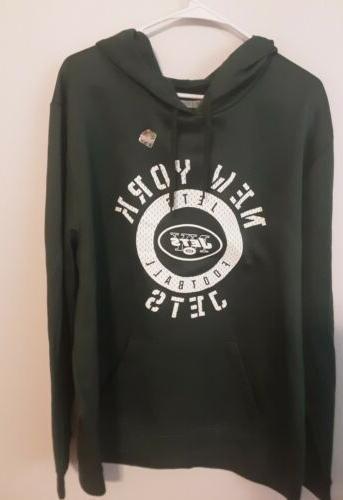 new york jets 2xl team apparel hoodie