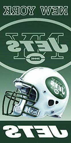 New York Jets 30x60 NFL Beach Bath Towel Football