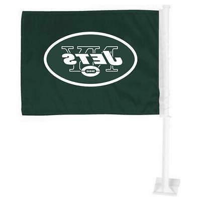 new york jets car flag 12 x