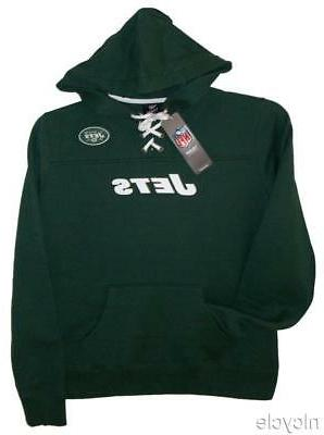 new york jets nfl green hoodie w