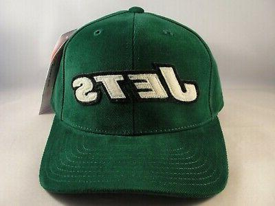 new york jets nfl vintage strapback cap