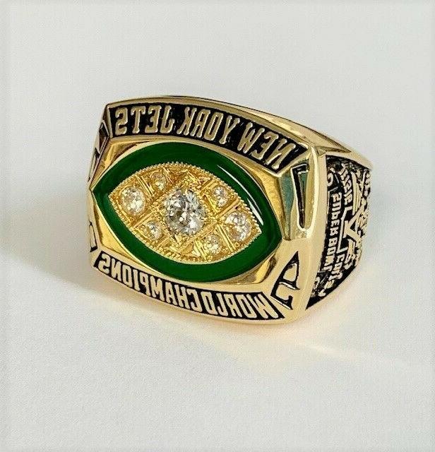 New York Jets Super Bowl III Replica USPS First Class Shipping