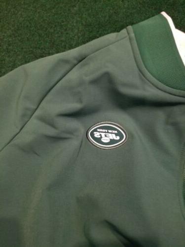 NIKE New Jets Men's XXL Field Green Full Zip Jacket NEW