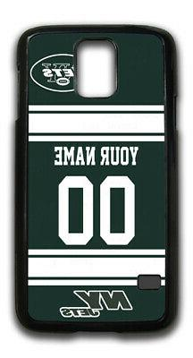 NFL New York Jets Personalized Name/Number Samsung Phone Cas