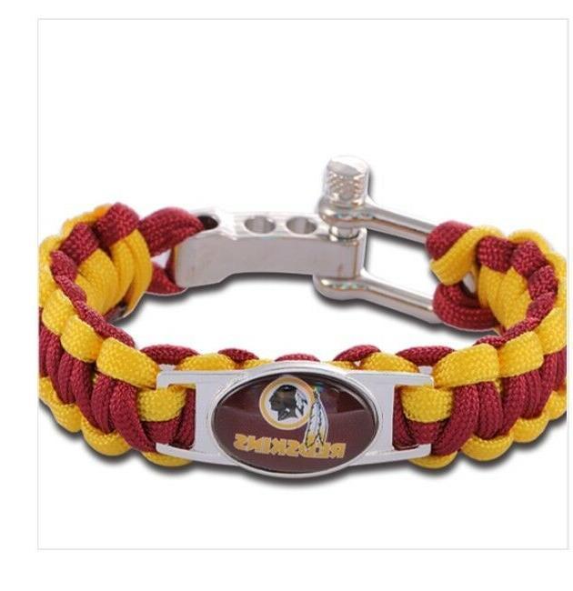 nfl team corded armbands