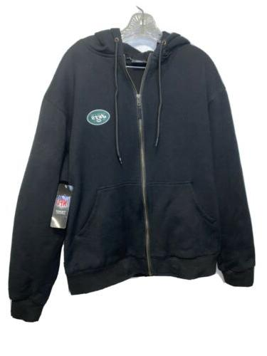 nwt new york jets black nfl hoodie