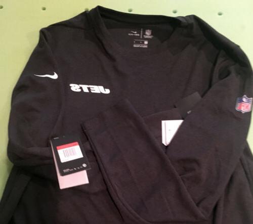 NWT Nike ONFIELD York Jets Dri-Fit Size L