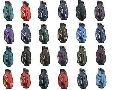staff golf nfl football cart bag new