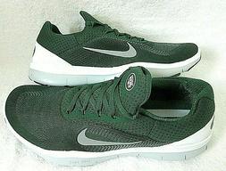 Nike Mens Free Trainer V7 NFL New York Jets Green Grey White