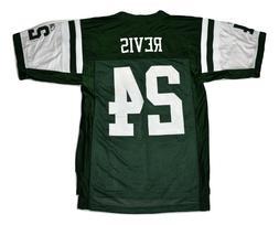 Reebok Mens NFL New York Jets Darrelle Revis Football Jersey