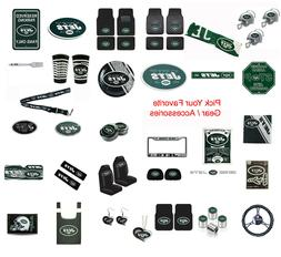 New NFL New York Jets Pick Your Gear / Car Truck Accessories