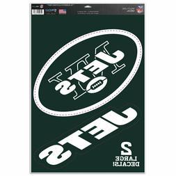 "New York Jets 11"" x 17"" Multi Use Decals - Auto, Walls, Wind"