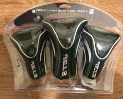 Team Golf USA New York Jets 3 Pack Contour Headcover -  New