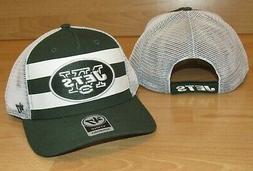 New York Jets '47 MVP Team Stripe Mesh Back Adjustable Team