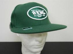 New York Jets Adult Fitted size 7 3/8 Reebok Flat Visor Cap