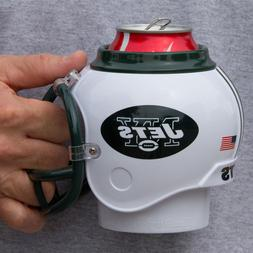 New York Jets All in One Helmet Can & Bottle Cooler, Mug and