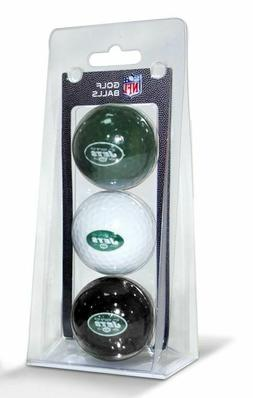 New York Jets 3 Pack of Golf Balls