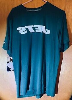 New York Jets Drifit Nike T-Shirt Green Men's Large NFL Team