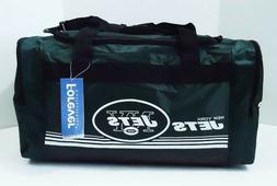 "New York Jets DUFFEL Bag Stripes Gym Training New 20"" x 11"""