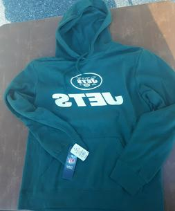 new york jets green hoodie mens med
