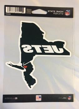 New York Jets Home State Sticker New Jersey NY Die Cut Decal