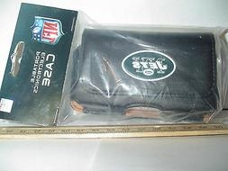New York Jets IPhone 3 and 4 GPS MP3 HOLDER Pouch Case Black