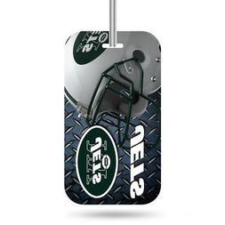 New York Jets Luggage ID Tag  NFL Travel Bag Duffel Plane