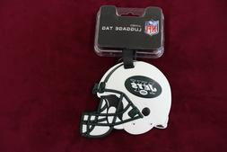 New York Jets Luggage Tag JUMBO Jets Helmet NFL Officially L