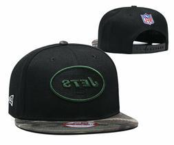 New York Jets New Era Black/Camouflage Team Snap Back Hat Ca