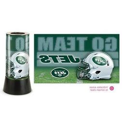 """New York Jets NFL Wincraft 12"""" High Rotating Lamp FREE SHIP"""