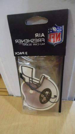 NEW YORK JETS NFL AIR FRESHENER 3 PACK