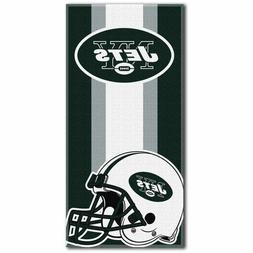 New York Jets NFL The Northwest Company Beach Towel - New Wi