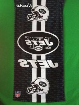 "NEW YORK JETS NFL Logo approx. 30""x60"" Fiber Reactive Beach"