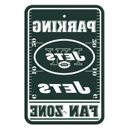 New York Jets Nfl Plastic Parking Sign