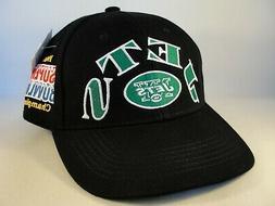 New York Jets NFL Super Bowl Champions Vintage Snapback Hat