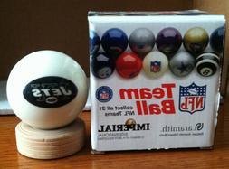 New York Jets NFL Team Cue / 8 Ball Super Bowl Champions