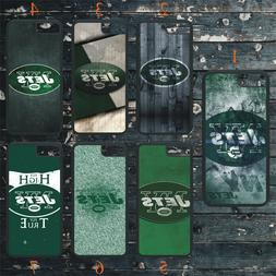 NEW YORK JETS PHONE CASE COVER FITS iPHONE 7 8 X 11 SAMSUNG