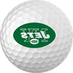 New York Jets Titleist ProV1 Refinished NFL Golf Balls 12 Pa