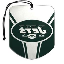 New York Jets Shield Design Air Freshener 2 Pack  NFL Fresh