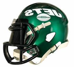 New York Jets Speed Mini Helmet with Black Visor