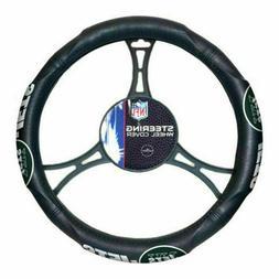 New York Jets Steering Premium Wheel Cover Car SUV Truck Lic