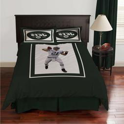 Biggshots New York Jets Tim Tebow 3 Piece Twin Bedding Comfo