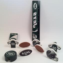 NFL ittle Fan New York Jets Stationery Set - School Supplies